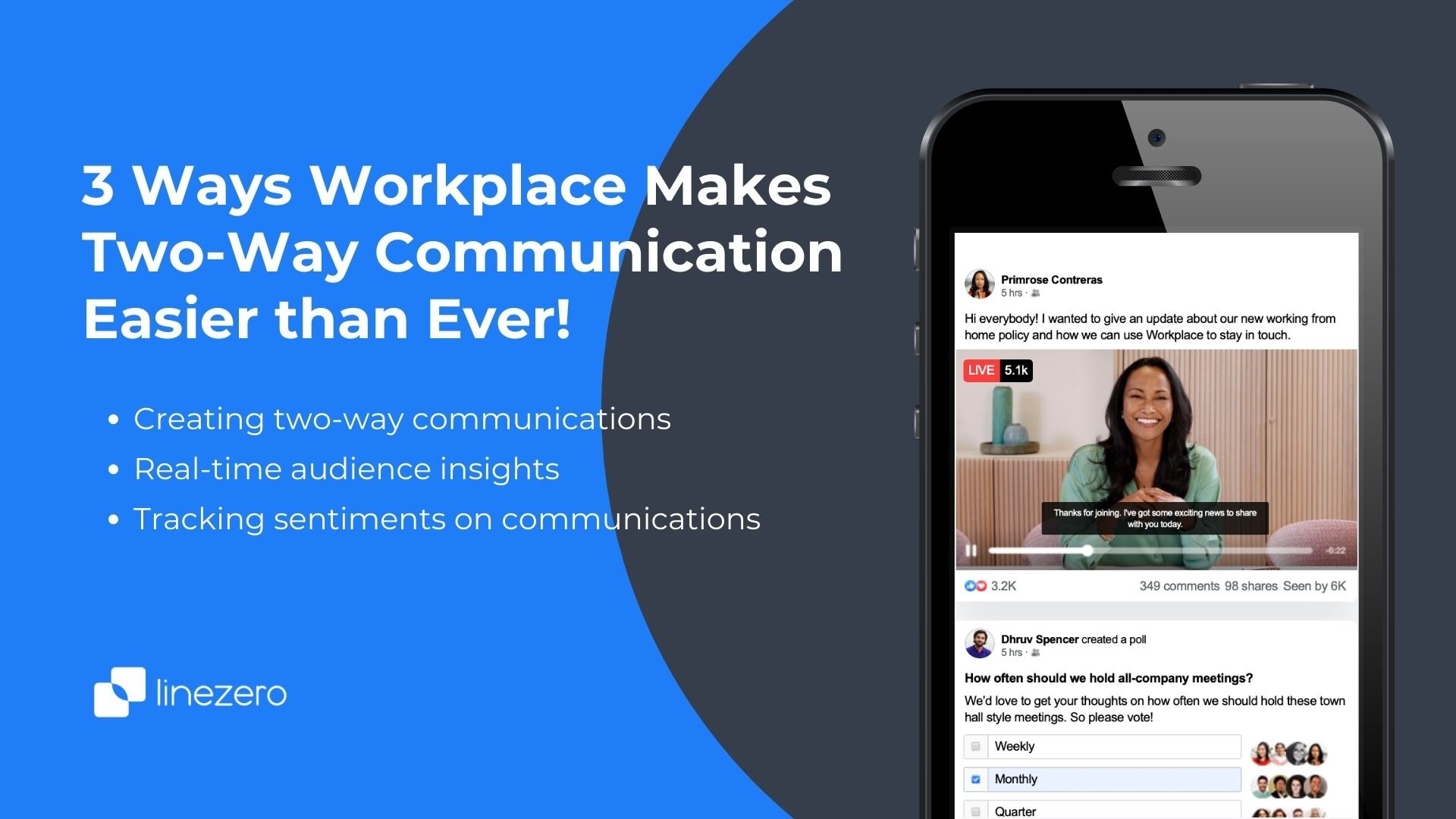 workplace makes communication easy