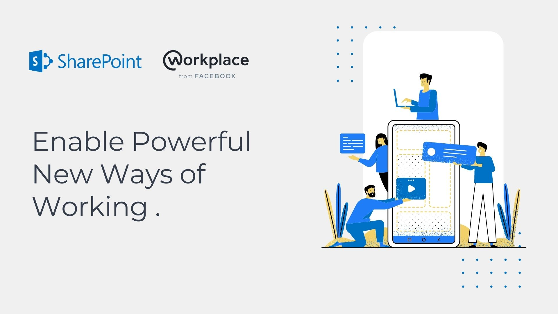 Sharepoint and workplace from facebook