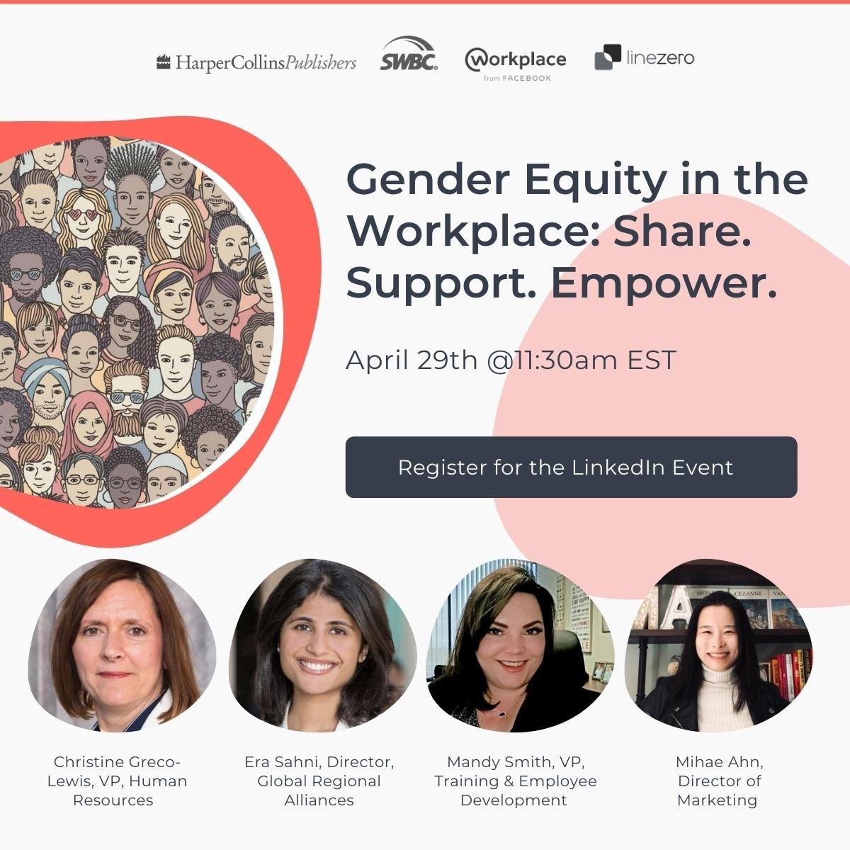 gender equality in workplace webinar