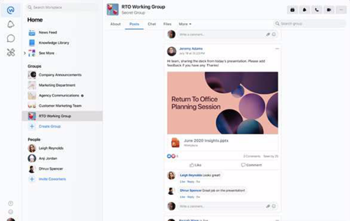 workplace from facebook demo
