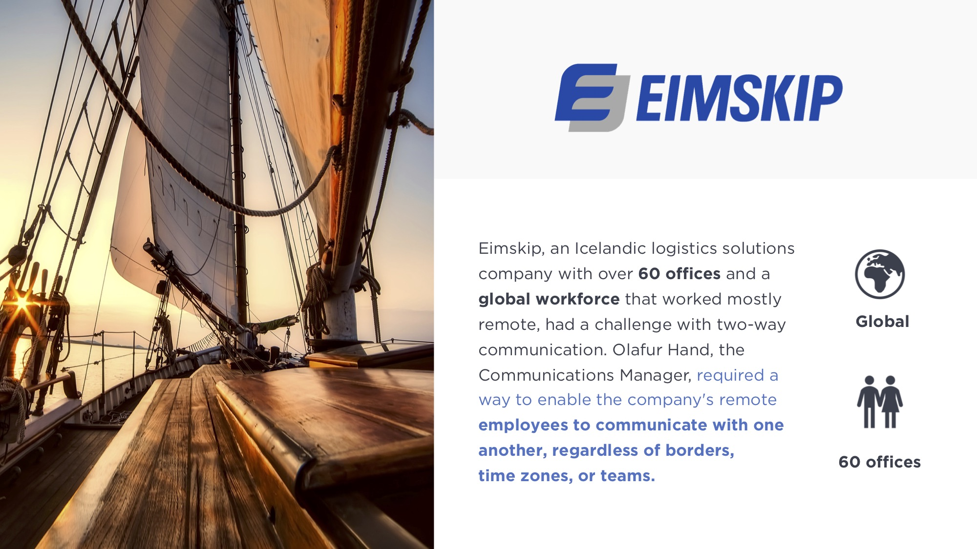 eimskip-two-way-communication-case-study