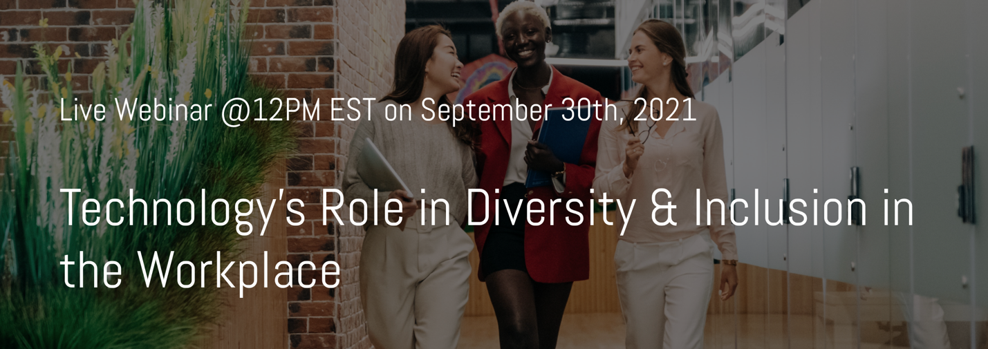 technology applied in diversity and inclusion